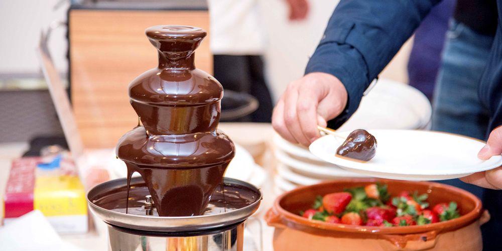 #Fontana di cioccolato